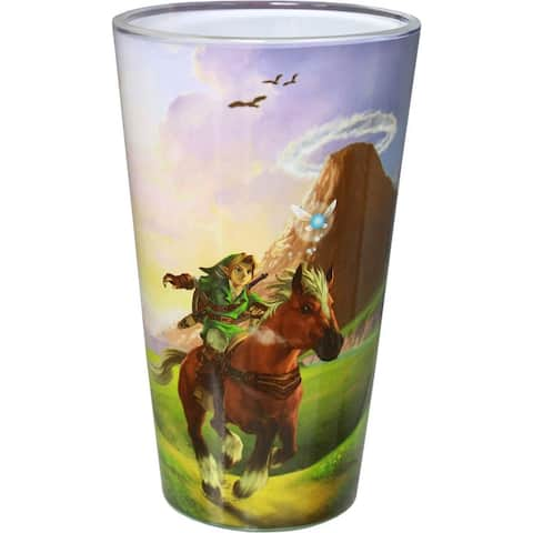 Legend of Zelda Ocarina of Time Pint Glass