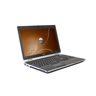 Dell Latitude E6520 Core i7-2720QM 2.2GHz 8GB RAM 500GB HDD DVD-RW Windows 10 Pro 15.5-inch Laptop (Refurbished)