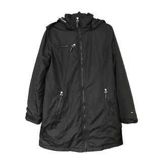 Tommy Hilfiger Long 3-in-1 Coat Black Small