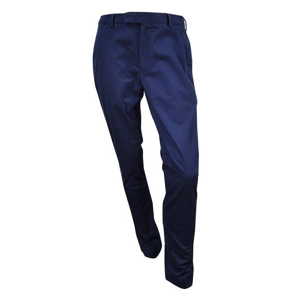 5c9f862ee266 Shop Polo Ralph Lauren Men's Slim-Fit Stretch-Chino Pant (36x34, Aviator  Navy) - aviator navy - 36X34 - Free Shipping Today - Overstock - 17605890