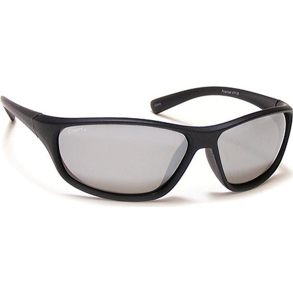 897352acb82 Shop Coyote Eyewear P-38 Polarized Sport Sunglasses Matte Black Gray Silver  Mirror - us one size (size none) - On Sale - Free Shipping Today -  Overstock.com ...