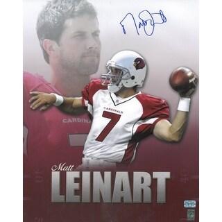 Matt Leinart signed Arizona Cardinals 16X20 Photo Collage- Leinart Hologram