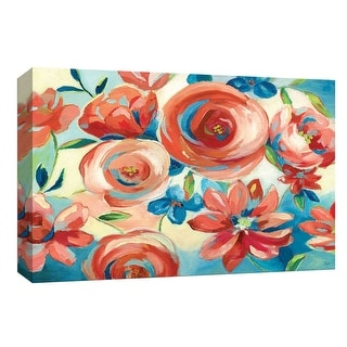 """PTM Images 9-148171  PTM Canvas Collection 8"""" x 10"""" - """"South Beach Sunday I"""" Giclee Flowers Art Print on Canvas"""