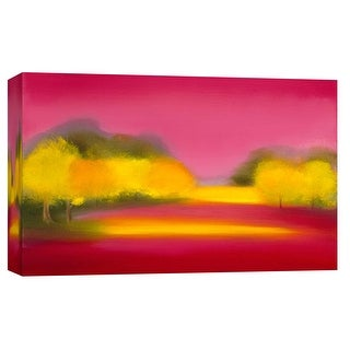"""PTM Images 9-101930  PTM Canvas Collection 8"""" x 10"""" - """"Raspberry Fantasy"""" Giclee Forests Art Print on Canvas"""