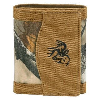 Legendary Whitetails Men's High Impulse Canvas Tri-Fold Wallet - Barley - One size