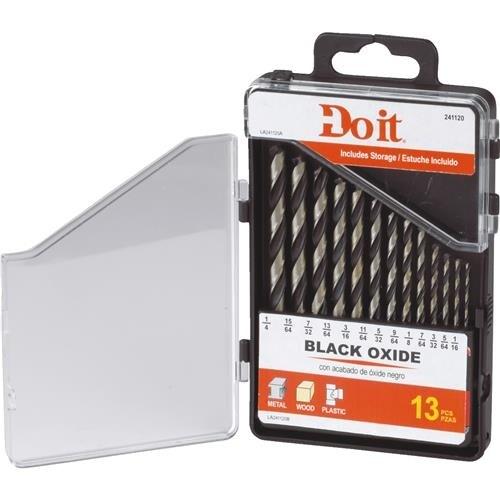 Do it 13-Piece Black Oxide Drill Bit Set