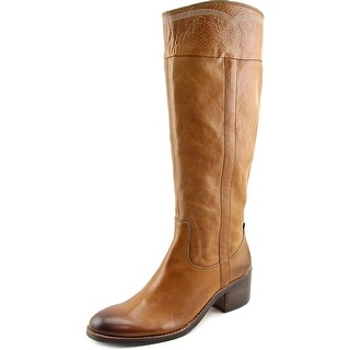 Donald J Pliner Willi Round Toe Leather Knee High Boot