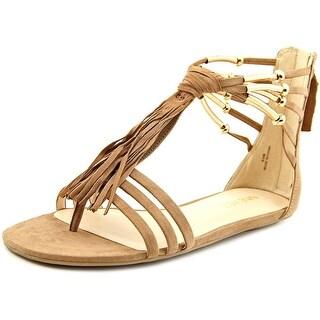 Nine West Emberly Open Toe Synthetic Gladiator Sandal