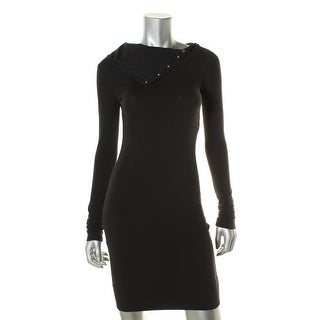 Diane Von Furstenberg Womens Long Sleeves Knee-Length Party Dress - XS