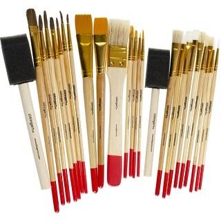 Paint Brush Value Pack 25/Pkg-Mixed Media