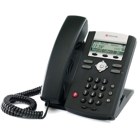 Refurbished Polycom 2200-12365-025-R SoundPoint IP 331 2-Line IP Phone (POE)