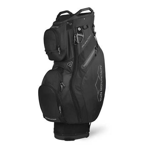 New 2020 Sun Mountain Phantom Cart Bag - (Black) - Black