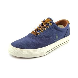 Polo Ralph Lauren Vaughn Men Canvas Fashion Sneakers