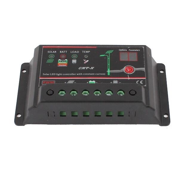 DC 12V/24V 10A Car Battery Solar Panel LED Light Charge Controller