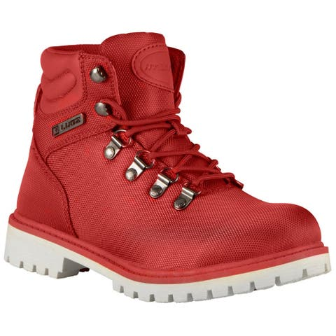 Lugz Grotto Ii Womens Boots Ankle - Red