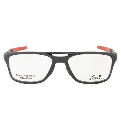 Oakley OX 8113 04 53 Gauge 7.2 Arch Satin Black Eyeglasses Frames - 53mm x 17mm x 136mm
