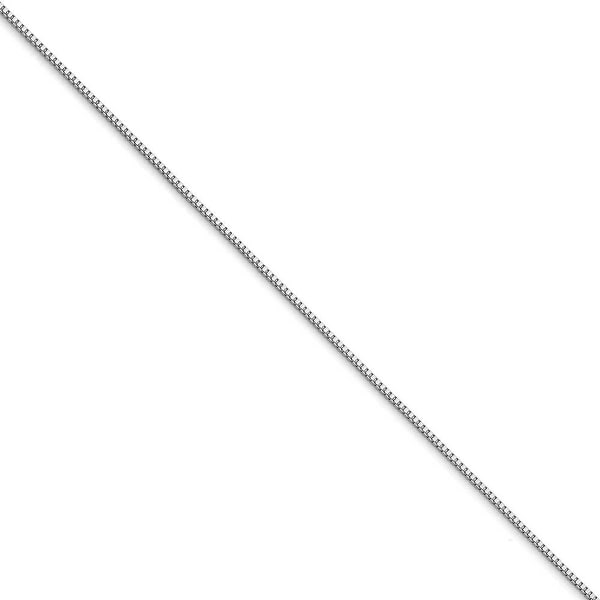 Chisel Stainless Steel 1.2mm 18 Inch Box Chain (1.2 mm) - 18 in