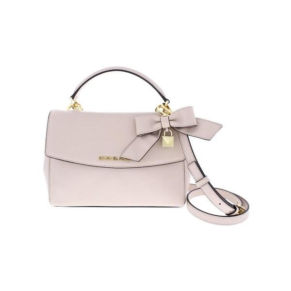 55ecfbfb07f8 Shop Michael Kors Womens Ava Satchel Handbag Leather Bow - MEDIUM ...