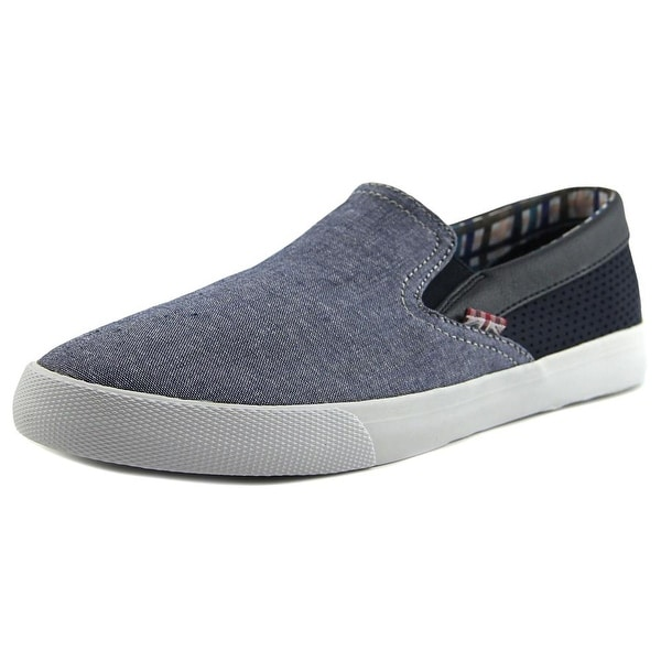 Ben Sherman Pete Slip-On Navy Loafers