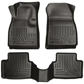 Husky Weatherbeater 2014-2016 Mazda 6 Grand Touring/Touring/Sport Black Front & Rear Floor Mats/Liners