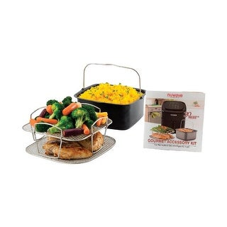 Nuwave 6564678 6 qt. Brio Gourmet Accessory Kit, Assorted