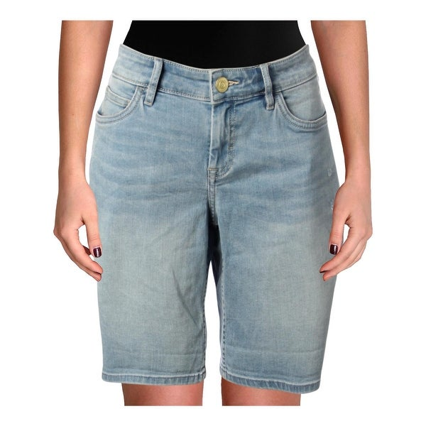 85fa96359 Shop Tommy Bahama Womens Tema Bermuda Shorts Denim Light Wash - 29 - Free  Shipping Today - Overstock - 27465679