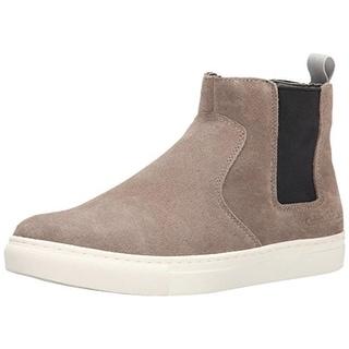 Calvin Klein Mens Casen Suede Colorblock Fashion Sneakers - 9 medium (d)