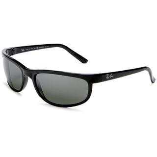 Ray-Ban RB2027 601/W1 Predator 2 Wrap Sunglasses 62MM - Black