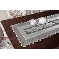 Table Runner Grega Design Brazilian Lace 19x62 Inches White Color 100 Percent Polyester - Thumbnail 0