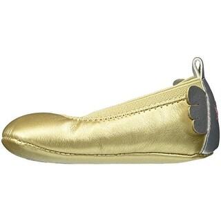 Rosie Pope Kids Footwear Angel Crib Shoes Infant Girls Shimmer