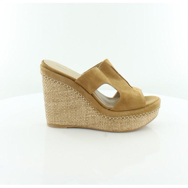 Stuart Weitzman Ponte Women's Sandals & Flip Flops Camel - 8.5