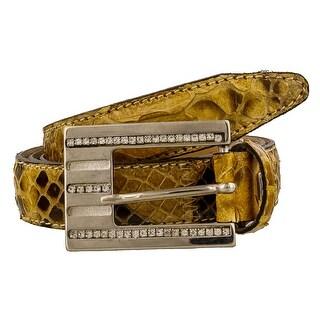 Renato Balestra PAREA CD Genuine Python Belt
