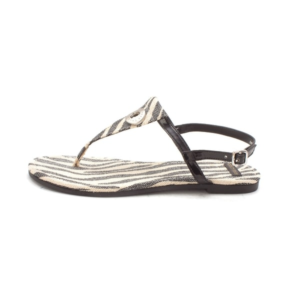 Cole Haan Womens Jillsam Open Toe Casual T-Strap Sandals - 6