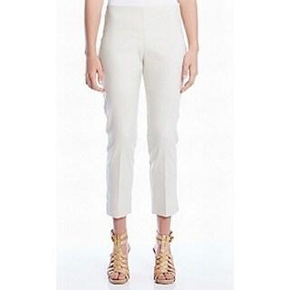 Karen Kane NEW Beige Women's Size 2X28 Pull On Capris Cropped Pants