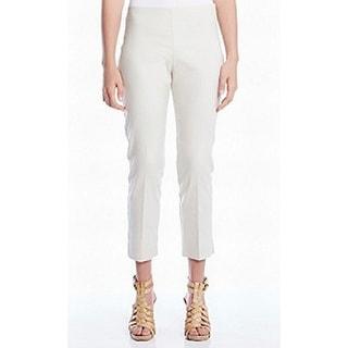 Karen Kane NEW Beige Women's Size 6X28 Capris Cropped Solid Pants