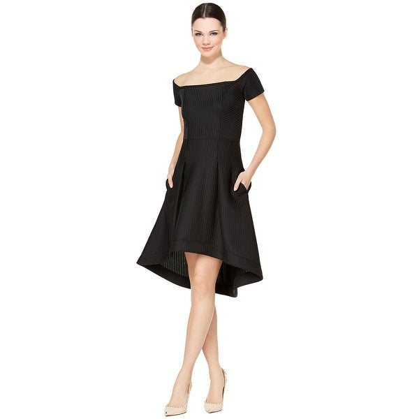 Shop Rachel Rachel Roy High Low Fit Amp Flare Cocktail Dress