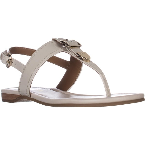 ac03fc90bcbd Shop Coach Cassidy T-Strap Flat Sandals
