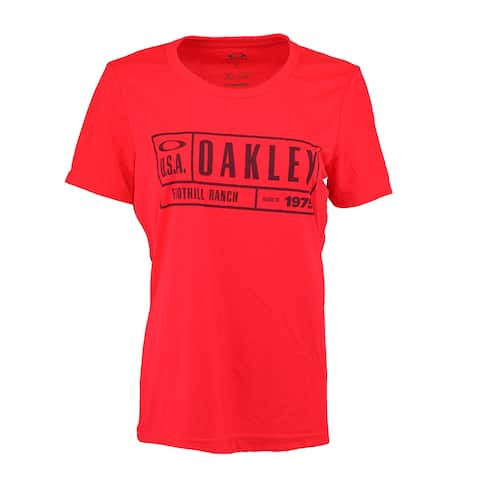 Oakley Women's Oakley Foothill Ranch T-Shirt - Red/Dark Purple