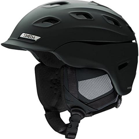 Smith Optics Vantage Women's Snow Helmet (Matte Black/Small) - Black