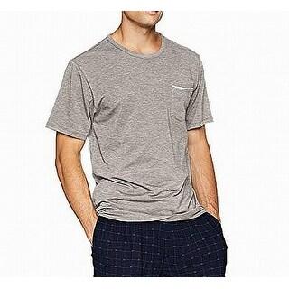 Lacoste Men Large Crew Neck Pocket Nightshirt Sleepwear