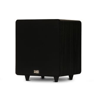 """Acoustic Audio PSW400-10 Home Theater Powered 10"""" LFE Subwoofer Front Firing Sub"""
