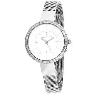 Link to Christian Van Sant Women's Reign Silver Dial Watch - CV0220 - One Size Similar Items in Women's Watches