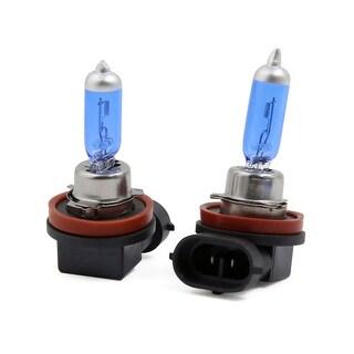 2PCS H11 100W Halogen Light Super White Car Headlight Bulb Fog Lamp 12V