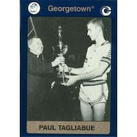 Paul Tagliabue Basketball Card Georgetown 1991 Collegiate