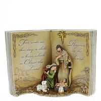 12 Inch Bible Nativity