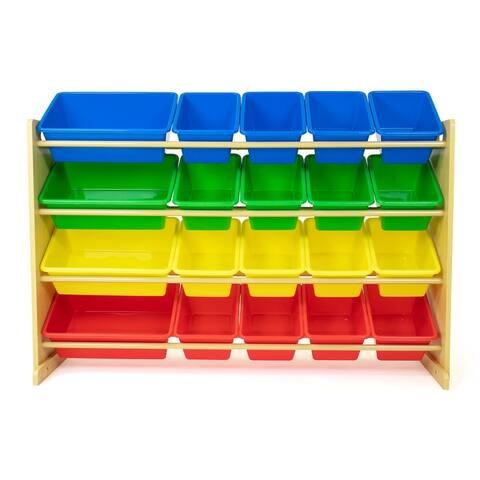 Humble Crew XL Toy Storage Organizer with 20 Storage Bins - Toddler, Pre-school