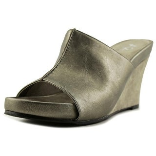 A2 By Aerosoles Heart Plush   Open Toe Synthetic  Wedge Heel