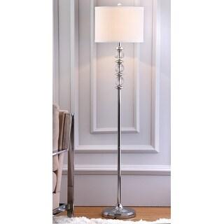 "Link to Safavieh Lighting 60-inch Crystal Riga Floor Lamp - 14""x14""x60"" Similar Items in Floor Lamps"