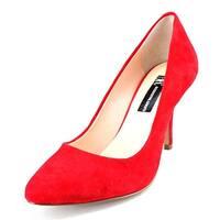 INC International Concepts Zitah Women  Pointed Toe Suede  Heels