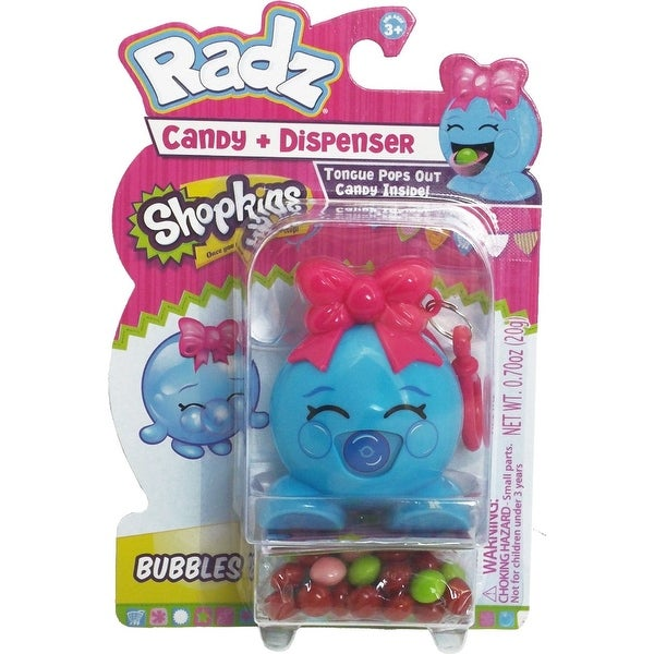 Shopkins Radz Candy Dispenser Bubbles - multi
